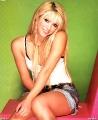 Shakira posing white shimmy