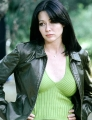 Shannen Doherty showing hot neckline