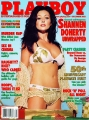 Shannen Doherty on the Playboy cover