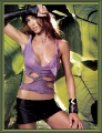 Shannon Elizabeth wearing sexy sweaty rags in the heart of the jungle
