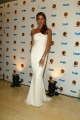 Shannon Elizabeth wearing white hot dress