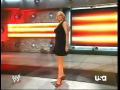 Stephanie McMahon wearing hot dress