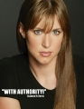 Stephanie McMahon with serious face