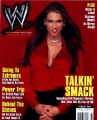 Stephanie McMahon on the WWE magazine cover