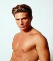 Hot Steve Burton posing shirtless