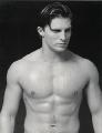 Shirtless Steve Burton posing hot