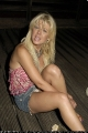 Tara Reid great short skirt