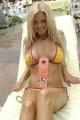 Tara Reid posing in hot bikini