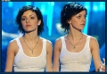 Cloned Julia Volkova the black one from TATU wearing hot shimmy