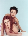 TATU posing together topless