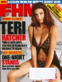 Teri Hatcher on the FHM cover