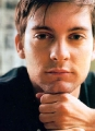 Tobey Maguire posing hot
