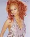 Tyra Banks in hot dress with extraordinary haircut
