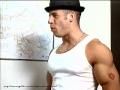 Vin Diesel posing sexy