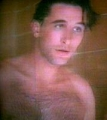 William Baldwin posing shirtless