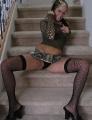 Jodi Cassidy spreading her legs wide