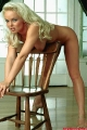 Sylvia Saint nude with a chair
