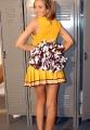 Tiffany Paris as a cheerleader