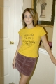 Its All About Ashley in yellow blouse