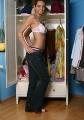 Erica Lightspeed changing her lingerie