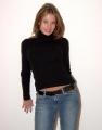 Nikki Nevada in black blouse