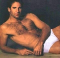 Sexy Scott Bakula posing shirtless