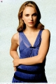 Natalie Portman in blue dress