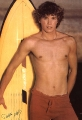 Christopher Atkins showing sexy belly