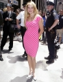 Jewel Kilcher wearing sexy pink dress
