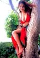 Anna Ohuralooks very hot on that tree