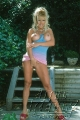Jill Kelly posing hot
